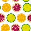 Citrus pattern Stock Images