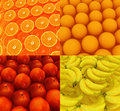 Citrus set beautiful backgrounds the Royalty Free Stock Photography