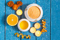 Citrus SPA concept Royalty Free Stock Photo