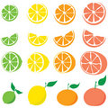 Citrus splash Royalty Free Stock Photography