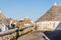 City of alberobello ancient residential structures known as trulli found in in the south italy Stock Photos