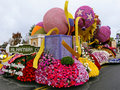 The City of Alhambra's Rose Bowl Parade Float Stock Images