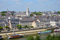 City of Angers in France Royalty Free Stock Photo
