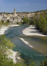 City of Aouste sur Sye, Drome Royalty Free Stock Photo