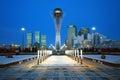 City of Astana - the capital of Kazakhstan Royalty Free Stock Photo