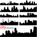 City background vector Royalty Free Stock Photo