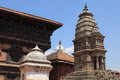 The city bhaktapur nepal old in kathmandu Royalty Free Stock Photography