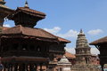 The city bhaktapur nepal old in kathmandu Stock Photos