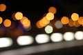 City bokeh background Royalty Free Stock Image