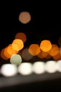 City bokeh background Royalty Free Stock Photo