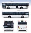 Město autobus