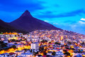 City of Cape Town, South Africa. Royalty Free Stock Photo
