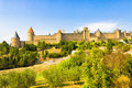 The city of carcassonne france Royalty Free Stock Photography
