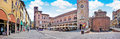 City center of the historic town of mantua in lombardy italy Royalty Free Stock Photos