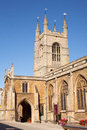 City centre church st john s in peterborough cambridgeshire england Stock Photos