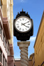 City clock Stock Images
