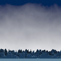 City and clouds graphic representation of a skyline under Stock Photography