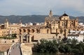 City of cordoba andalusia spain view over the Stock Images