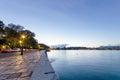 City of corfu the beautiful port island province ionian islands greece Royalty Free Stock Photography