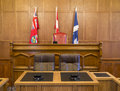 City Council Chambers and Courthouse Stock Photos