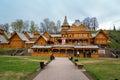 City of Craftsmen in Gorodets Royalty Free Stock Photo