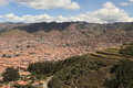 The city of cuzco in peru Stock Photography