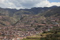 The city of cuzco in peru Royalty Free Stock Image