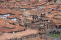 The city of cuzco in peru Royalty Free Stock Images