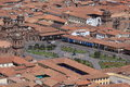 The city of cuzco in peru Stock Photo