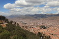 The city of cuzco in peru Royalty Free Stock Photography