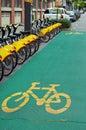 City cycling Royalty Free Stock Photo