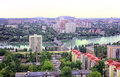 City of donetsk ukraine the beautiful a bird s eye Stock Photo