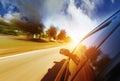 City driving Royalty Free Stock Photo