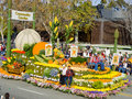 City of Duarte's Rose Bowl Float Stock Image