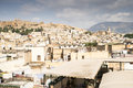 City of fés panoramic view the beautiful with the medina Royalty Free Stock Photos