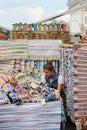 City fair ukrainian goods industrial area made kontraktova area the of kiev ukraine Stock Photography