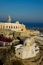 City fira santorini island greece Royalty Free Stock Photography