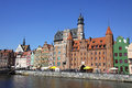 City of Gdansk (Danzig), Poland Royalty Free Stock Photo