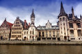 City of Ghent, Belgium Stock Images
