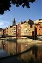 City of Girona, Spain Stock Photography