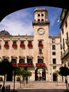 City hall in alicante spain the historic ayuntamiento Royalty Free Stock Image