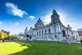 City hall of Belfast Royalty Free Stock Photo