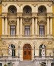 City hall of bilbao casa consistorial ayuntamiento in biscay basque country spain Royalty Free Stock Photo