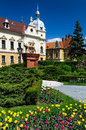 City-Hall of Brasov, Romania, neobaroque architecture Royalty Free Stock Photos