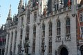 City hall of bruges Royalty Free Stock Photos