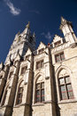 City hall of ghent in the old town belgium Stock Image