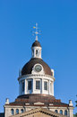 City hall kingston ontario canada view of clock tower on the in summer Stock Photos