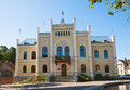 City hall Kuldiga, Latvia Royalty Free Stock Photo
