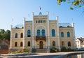City hall Kuldiga, Latvia Royalty Free Stock Photo