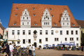 The city hall on the Market square in Meissen, Ger Royalty Free Stock Images